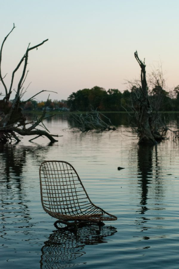 Abandoned Chair - Red Mill Pond